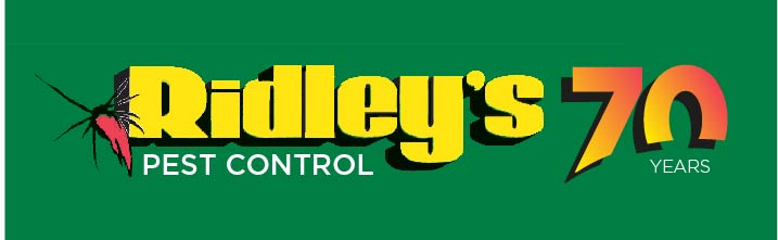 Ridley's Pest Control logo 70 years-02