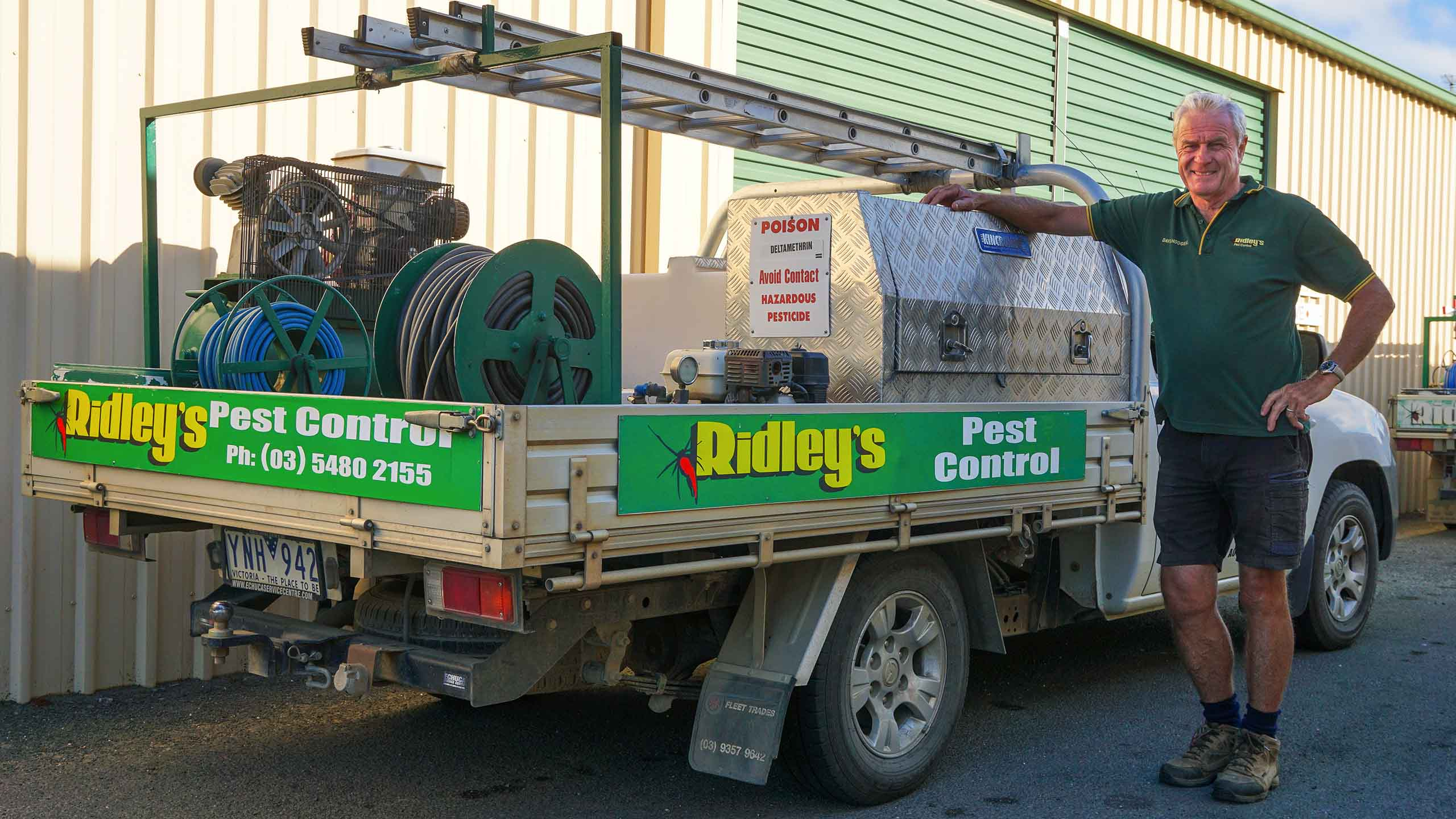 Ridleys Pest Control Echuca David